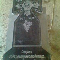гранітний хрест №2